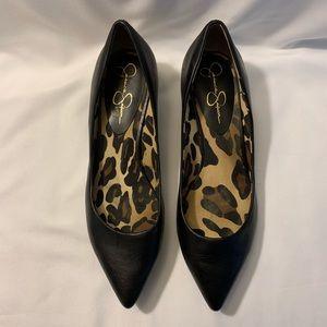 Jessica Simpson Pointed-toe Kitten Heels